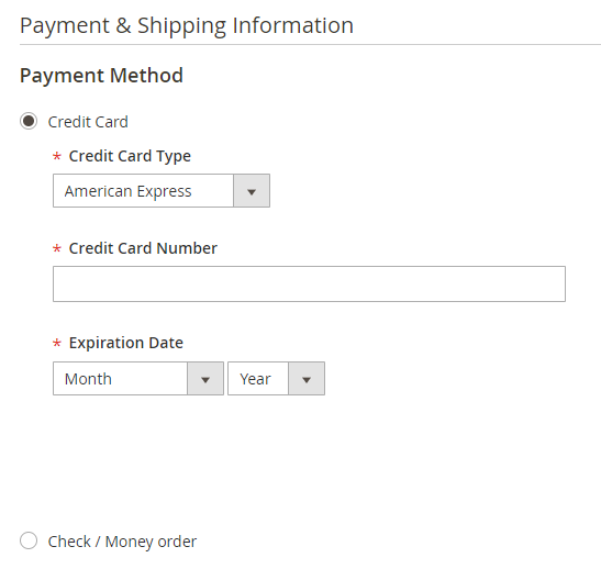 Magento 2 Saved Credit Cards Extension - CCSave for Magento 2 - XTENTO