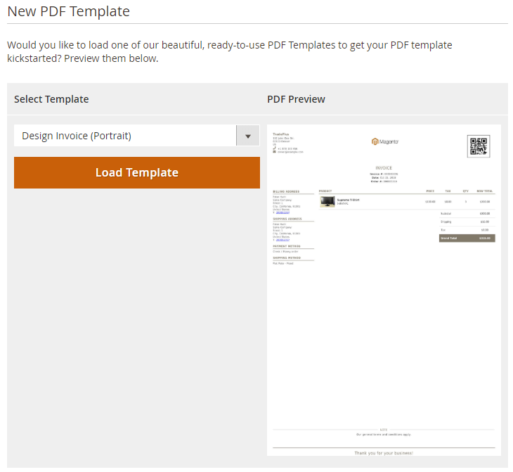Magento 2 PDF Customizer Extension - Custom PDF Invoices, Order