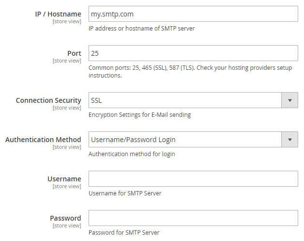 Magento 2 SMTP Extension - Custom SMTP Server Settings - XTENTO