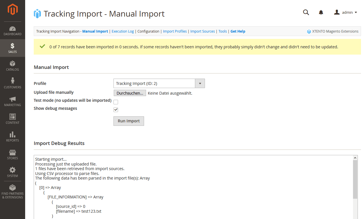 Magento Tracking Number & Shipment Import Extension for