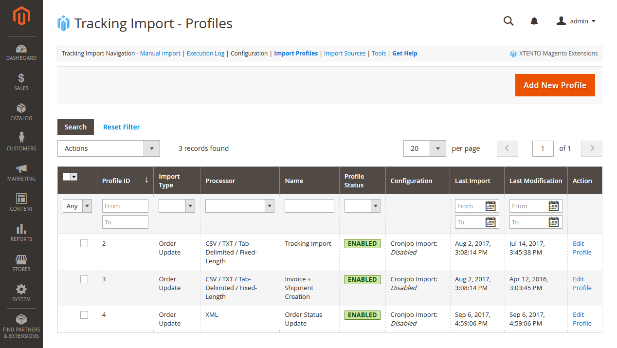 Magento Tracking Number Shipment Import Extension For Magento 2