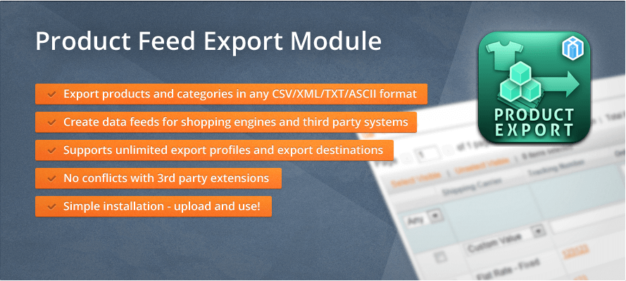 Magento Product Export Module